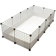 LARGE INDOOR GUINEA PIG 4 by 2 CAGE / kit HUTCH RUN cheapest on ebay