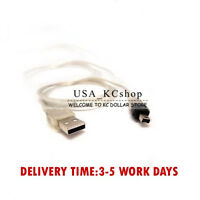 New 5ft USB To Firewire IEEE 1394 4 Pin iLink Extension Adapter Data Cord Cable