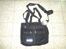 Zahal Rare Authentic MILITARY Field Bag Israel Infantry w/ IDF ARMY LABEL. Black