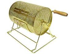 Bingo Supply Brass Plated Game Raffle Barrel Drum Med