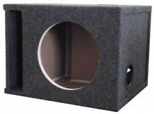 """Subwoofer Box 10"""" Single Labyrinth Slot Vent Port 1"""" Face Enclosure Made in USA"""