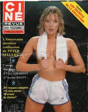 CINE REVUE 1980 n°32 elle girardot peter sellers landon