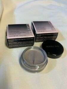 Two(2) Mary Kay Cream Eye Color Glacier Gray .15 oz. in box with Free Shipping