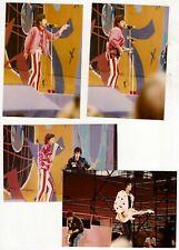 4 Original Amateur Fotos - Rolling Stones Mick Jagger usw. (A137)