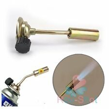 Butane Gas BBQ Tool Blow Torch Ignition Flamethrower Mini Burner Camping Welding