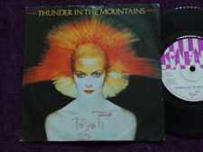"TOYAH ""Thunder in the mountains"" 7""  Vinyl  SAFE 38"