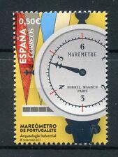 Spain 2017 MNH Portugalete Tide Gauge Industrial Archaeology 1v Set Stamps