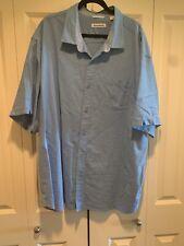 Tommy Bahama 3xb Mens Blie Short Sleeve Shirt