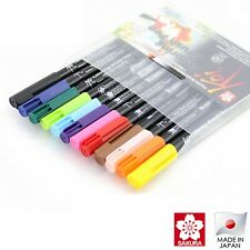Sakura Koi Colouring Brush 12 Colour Pen Set | Japan Lettering Calligraphy Pens