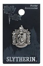 Harry Potter Slytherin School Crest Pewter Lapel Pin
