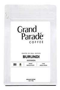 Burundi Gourmet Medium Roast Ground Coffee, Fresh Roasted Daily, 1 LB Bag
