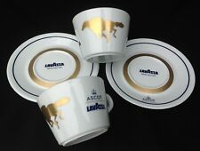 2 x Lavazza Italy Special Edition Ascot Coffee Cups and Saucers Horse Racing 8oz