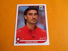595 YAKIN HELVETIA SUISSE PANINI FOOTBALL FIFA WORLD CUP 2010 COUPE MONDE