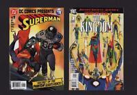 DC Comics SUPERMAN Justice Society Kingdom Special #1 + 'Quarterback' #1   c1.99