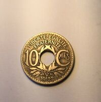 10 Centimes Lindauer 1922 Poissy N5