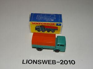 Matchbox Series Mercedes Truck Nr.1 Lesney - Unbespielt
