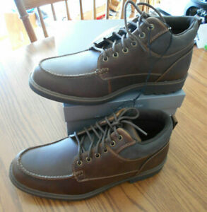 Falls creek hiker boots men 10.5 brown lace up padded NEW