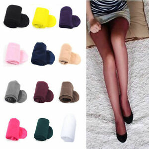 Women Ladies Colorful Sexy Sheer Transparent Tights Pantyhose Stockings Hosiery