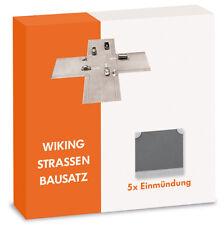 Wiking 119904 H0 Straßen Bausatz Einmündung 5x