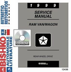 Service Repair Manuals For Dodge Ram 2500 Van For Sale Ebay