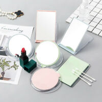 Portable Travel Round Rectangle Glass Makeup Compact Small Pocket Makeup Mirror