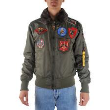 Top Gun Iceman Bomber Jacket Uomo 127 53118 52387 249 Verde