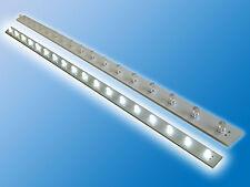 1x LED Platine   Kalt Weiß   6000K   12VDC   0,12A   1,44W   bedrahtete 3mm LEDs
