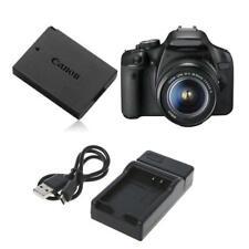 Battery Charger Portable For Canon LP-E10 EOS1100D E0S1200D Kiss X50 Rebel T3