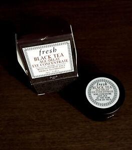 FRESH Black Tea Age-Delay Eye Concentrate Cream - 3ml/0.1oz New in Box Mini Size