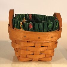 Longabrger Thyme Booking Basket Combo