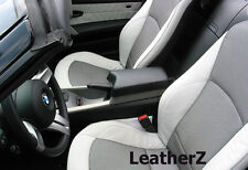 BMW Z4 Roadster & Coupe Armrest Console! E85 E86 Z4 BMW!  Black Leather & Silver
