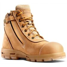 """Redback UACH 6/"""" Outland Nubuck Leather Australian Imported Safety Work Boots"""