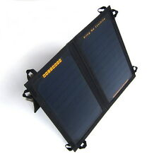 PortaPow 11W Dual USB Ultra Compact Solar Charger Panel for SmartPhones, Tablets