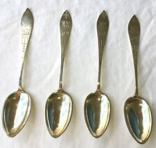 """1915 ANTIQUE STERLING SILVER SPOONS """"Hoven or Houen"""" NOT SURE Hoven Houen"""