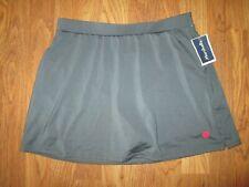 Womens K-Swiss athletic skort skirt built n spandex shorts S Sm Nwt tennis