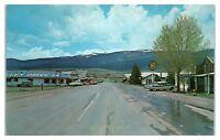 1950s/60s Eagle Nest NM Valley Drive-In Laguna Vista Lodge Sinclair Gas Postcard