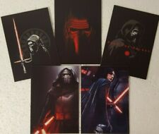 2019 Topps Star Wars Journey to Rise of Skywalker Kylo Ren Trading Card Set of 5