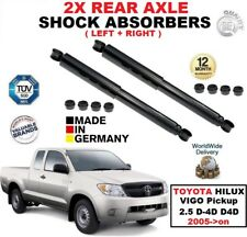REAR LEFT RIGHT SHOCK ABSORBERS for TOYOTA HILUX VIGO Pickup 2.5 D-4D D4D 2005->