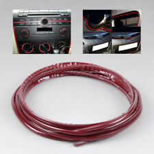 3M DIY Dream Car Interior Grille Moulding Trim Strip Line With 3M tape Red