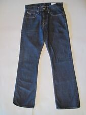 G-Star Raw dk blue men's jeans 30x31 style 3301 Bell, great pre-owned condition