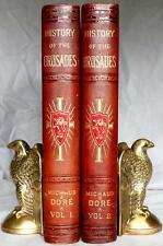 1880 History Of The CRUSADES Middle DARK AGES Gustave Dore KNIGHTS TEMPLAR Folio