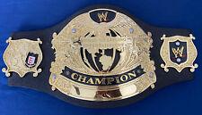 "WWE WWF UNDISPUTED Championship Jakks Belt 32"" Waist RETIRED THE ROCK LESNAR"