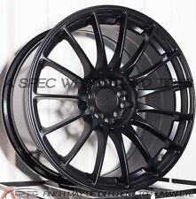 18X8.75 XXR 550 WHEELS 5X100/114.3 +19 FLAT BLACK RIM FITS NISSAN 350Z 2003-09