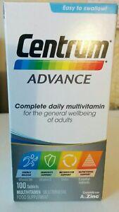 2 X Centrum Advance Multivitamin Tablets, 200-Count A to Zinc
