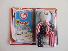 Ty-Teenie Beanie-Spangle the Bear, Ronald McDonald, 2000 New