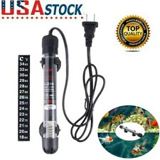 Small Submersible Fish Tank Heater Indication Automatic Aquarium Heating Rod