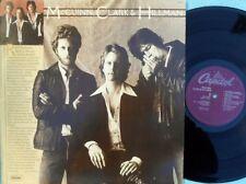 McGuinn Clark & Hillman ORIG US ST LP EX '79 Capitol SW11910 Byrds Country Rock