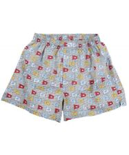 Nwt Southern Tide Men's Small (29-31) Harpoon (Grey) Catch Flags Cotton Boxer