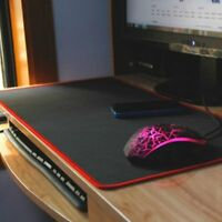 Extended Gaming Mouse Pad,Large Size 31 x12 Inches For PC Laptop Gaming US SHIP