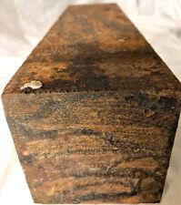 Marblewood Lumber 3x3x12 Cracked Stock For Hybrid Resin Turnings Knife Handles